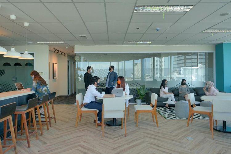 Ruang kerja bersama CoHive.