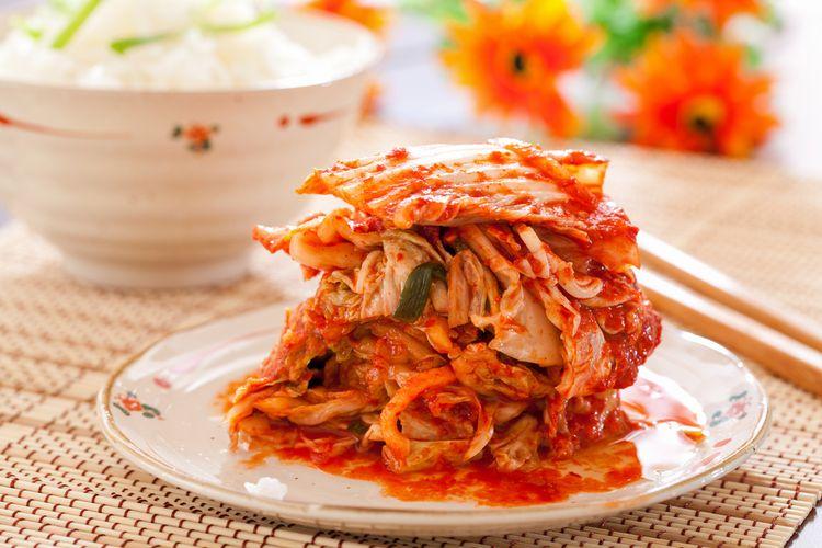 Ilustrasi kimchi