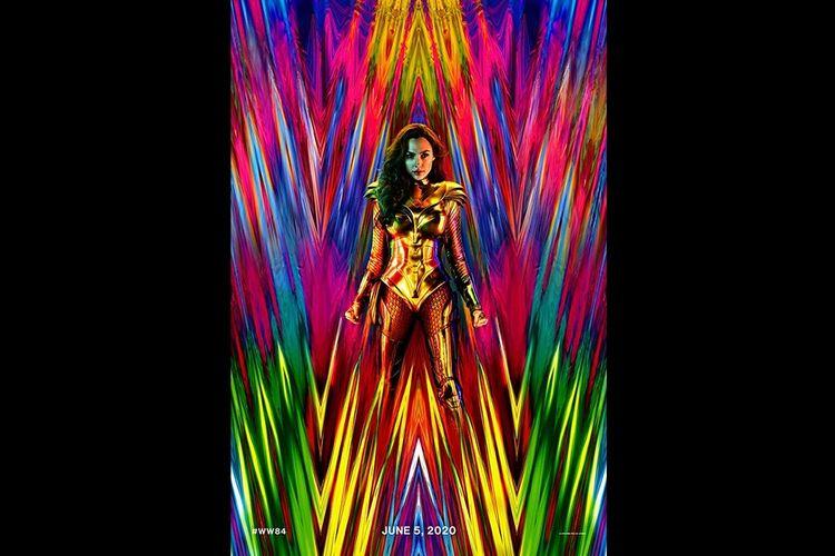 Poster film Wonder Woman 1984.