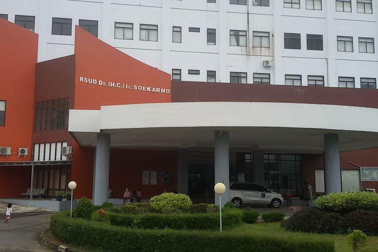 Gedung RSUD Ir Soekarno di lintas timur Bangka, Kepulauan Bangka Belitung.