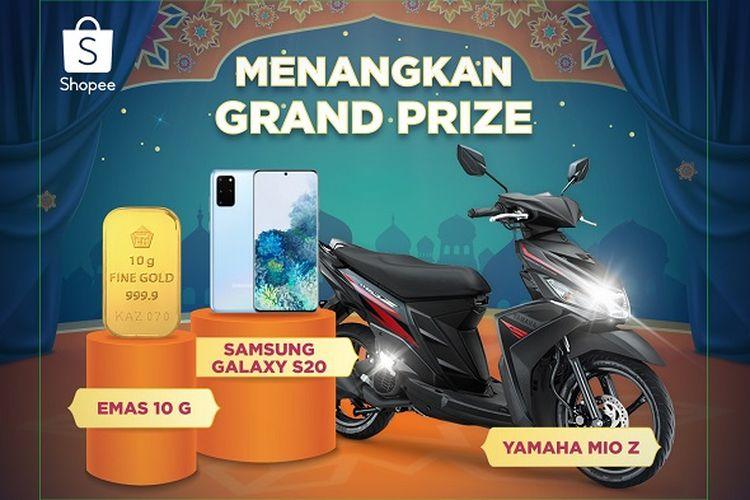 Grand Prize Shopee.