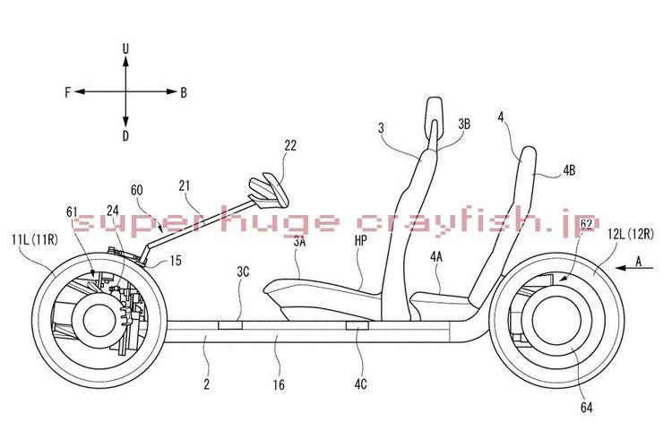 Paten Yamaha kembangkan kendaraan roda empat