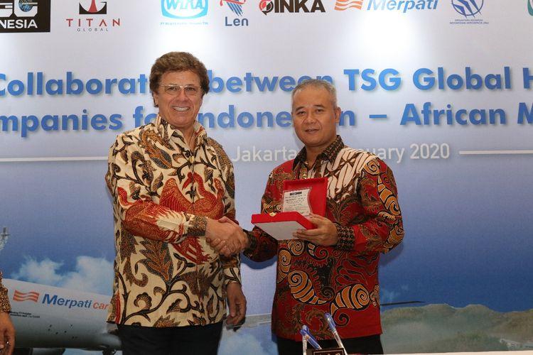 PT Wijaya Karya (Persero) Tbk atau Wika menjalin kerja sama dengan TSG Global Holdings untuk membangun infrastruktur di Kongo. Penandatanganan kerja sama dilakukan oleh General Director TSG Global Holdings Rubar Sandi dan Direktur Utama Wika Tumiyana, di Jakarta, Rabu (22/1/2020).