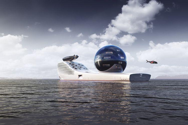 Superyacht 300, kapal sains berteknologi nuklir