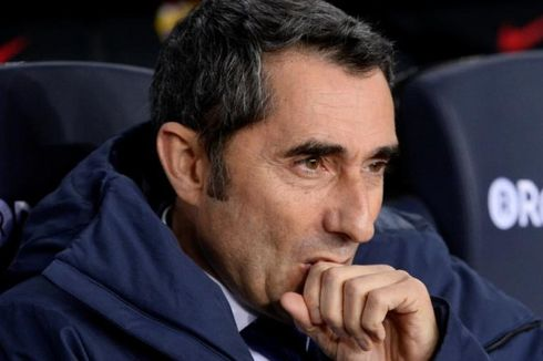 Barcelona Vs Atletico Madrid, Valverde Sadar Posisinya Terancam