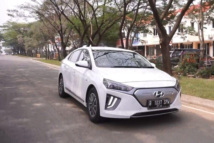 Tes drive Hyundai Ioniq