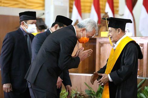 Anggota Wantimpres Habib Luthfi bin Yahya Terima Doktor Honoris Causa dari Unnes