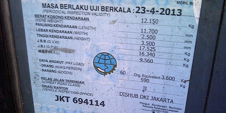 Ilustrasi: Bus Transjakarta koridor IV rute Pulogadung - Dukuh Atas yang terbakar hari Rabu (9/10/2013) sore telah habis masa uji KIR. Masa uji KIR hanya berlaku hingga 23 April 2013.