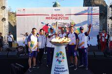 Sambut Obor Api Asian Games XVIII, Telkom Gelorakan Energi Merah Putih di Bali