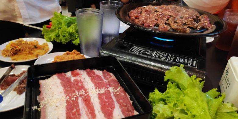 Pochajjang, restoran daging panggang ala Korea.