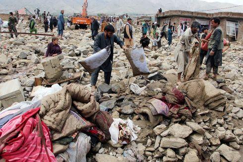 Banjir Bandang Melanda Afghanistan 60 Orang Tewas dan Puluhan Orang Hilang