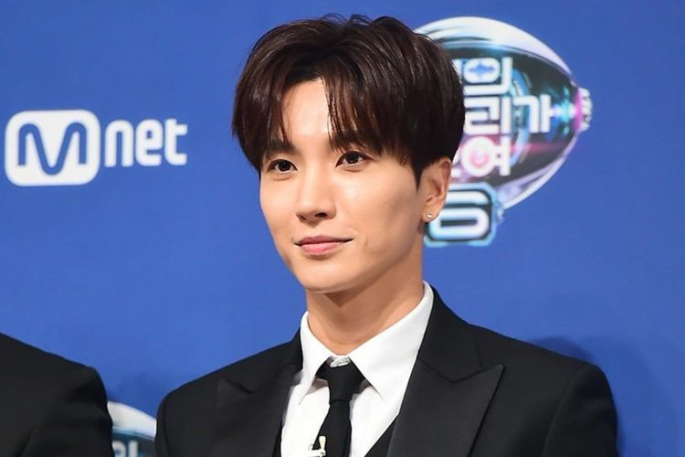 Leeteuk, leader boyband Super Junior.