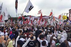 Massa Pendukung Capres 02: Naik-Naik Prabowo-Sandi, Turun-turun Jokowi