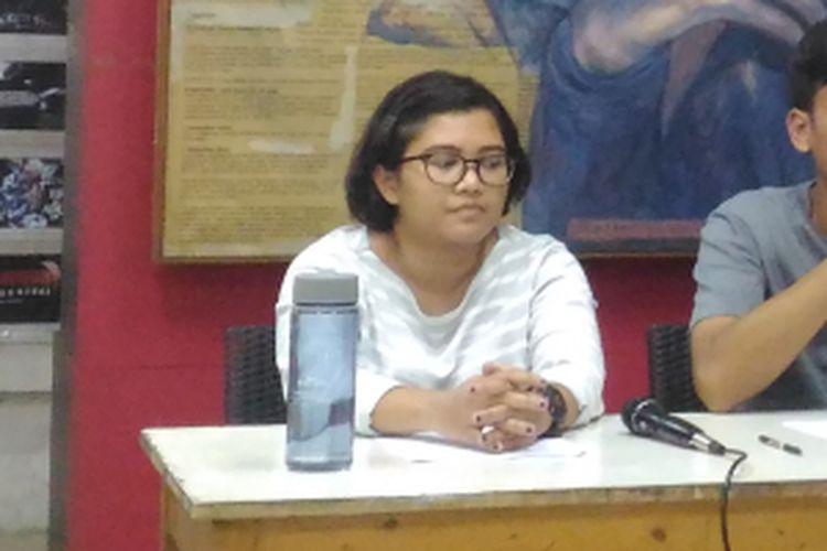 Fatia Maulidiyanti (Desk International KontraS), Jumat (7/12/2018).