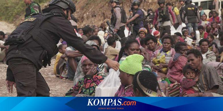6 KKB Berkumpul di Tembagapura, Ribuan Personel Gabungan Dikerahkan untuk Pengamanan