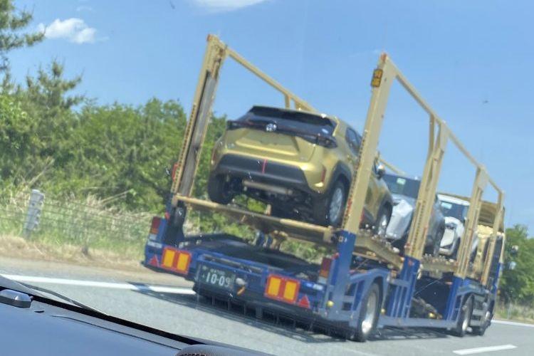 Spyshot Toyota Yaris Cross sedang dikirim ke diler