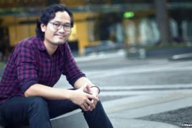 Ronny Gani, animator muda Indonesia yang ikut terlibat dalam penggarapan animasi film science fiction