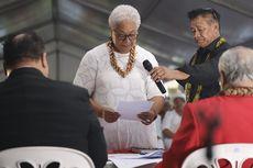 PM Perempuan Pertama Samoa Dilantik di Tenda karena Dikunci Oposisi