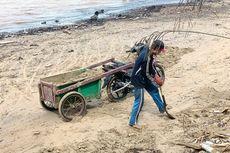 Penambangan Pasir Ilegal, Garis Pantai Pulau Sebatik Bergeser 60 Meter, Rumah Terancam Hilang