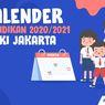 INFOGRAFIK: Kalender Pendidikan 2020/2021 DKI Jakarta