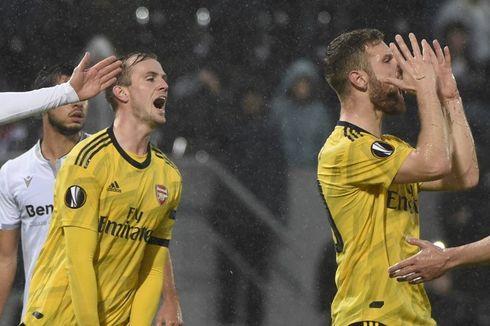 Guimaraes Vs Arsenal, Gol Injury Time Bikin Laga Berakhir Seri