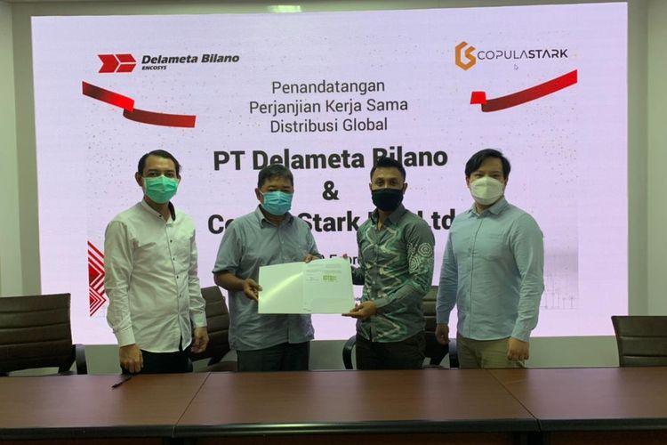 PT Delameta Bilano jadi salah satu perusahaan lokal yang sudah memproduksi berbagai sistem pembayaran elektonik dalam bidang otomotif.