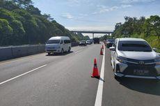Skema Contra Flow dan Pengalihan Arus di Tol Cipularang KM 118 Pasca-longsor, Diberlakukan Jika Kendaraan Padat