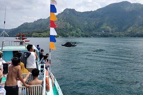 Promosikan Wisata Danau Toba Aman, 20 Kapal Motor Konvoi Rayakan Harhubnas