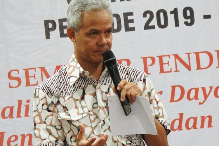 Gubernur Jawa Tengah, Ganjar Pranowo. KOMPAS.com/SLAMET PRIYATIN