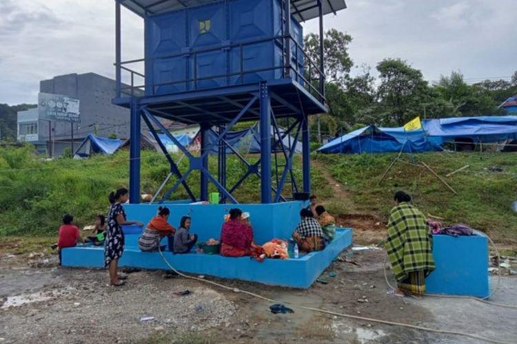 Pembangunan sumur bor di Provinsi Sulawesi Utara.