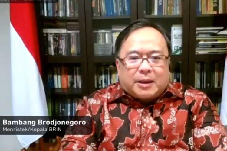 Menristek Bambang Brodjonegoro menjelaskan mengenai peran perempuan peneliti di Indonesia harus ditingkatkan.