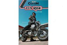Honda Monkey 70 Ride Edition Meluncur, Grafisnya Klasik
