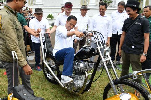 Chopperland, Motor Kustom Garapan Pemuda Indonesia yang Dijajal Jokowi