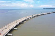 Progres Terkini Jembatan Penghubung Dermaga Terpanjang di Indonesia
