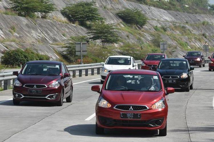Test Drive Mitsubishi New Mirage