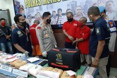 Polisi Sita 8,5 Kg Sabu dari 5 Pengedar Jaringan Internasional