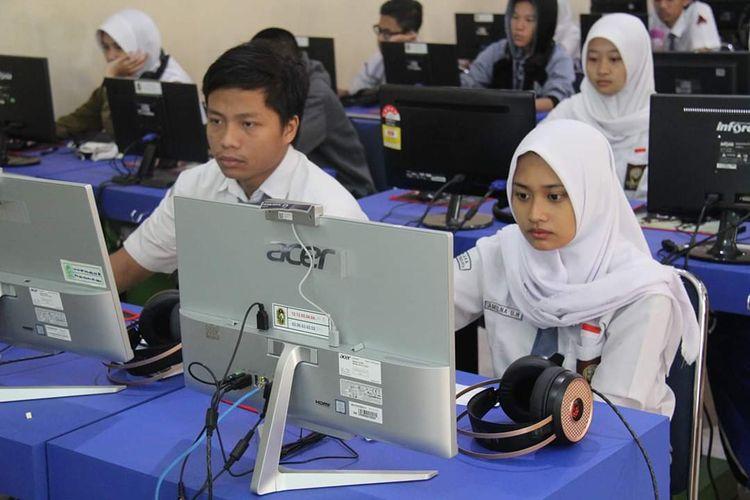 Simulasi UNBK SMA Negeri 3 Yogyakarta