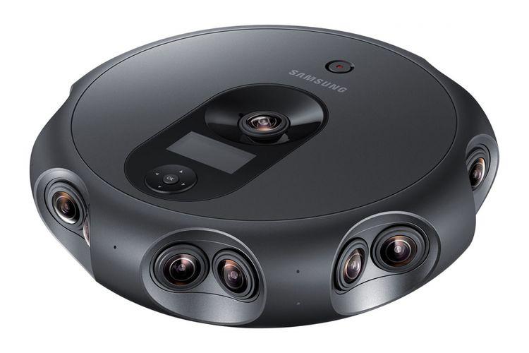 Kamera 360-derajat Samsung Round 360.