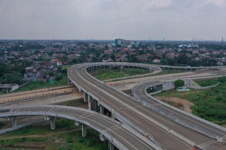 Jalan Tol Serpong-Cinere Ruas Serpong-Pamulang dan Jalan Tol Cengkareng-Batuceper-Kunciran resmi beroperasi.