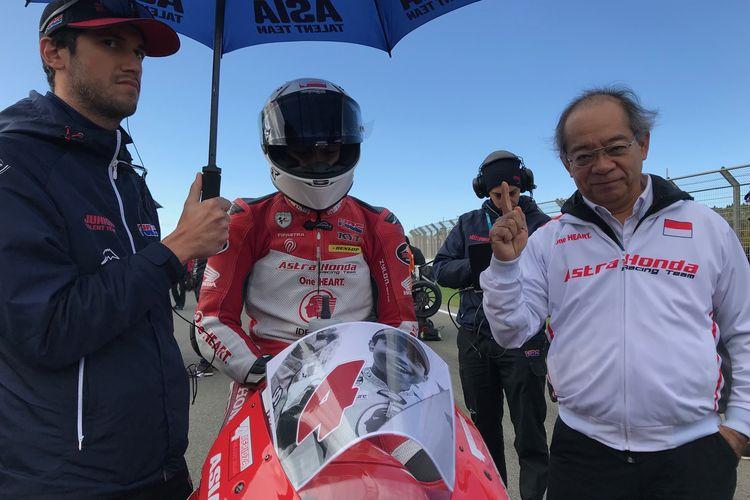 Mario Suryo Aji di CEV Moto3 World Championship 2019