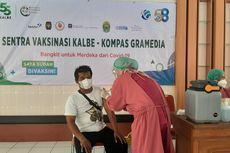 Kompas Gramedia dan Kalbe Farma Gelar Vaksinasi di Bantul