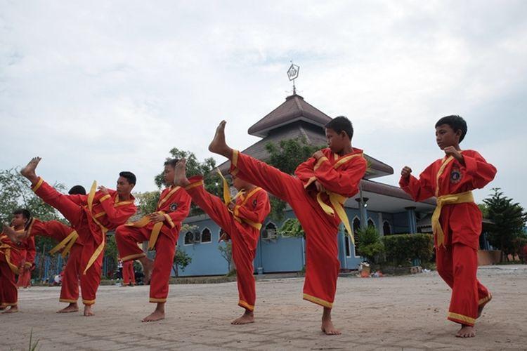 Pencak Silat. Pada 12 September 2019, UNESCO menetapkan Pencak Silat sebagai Warisan Budaya Dunia Tak Benda.