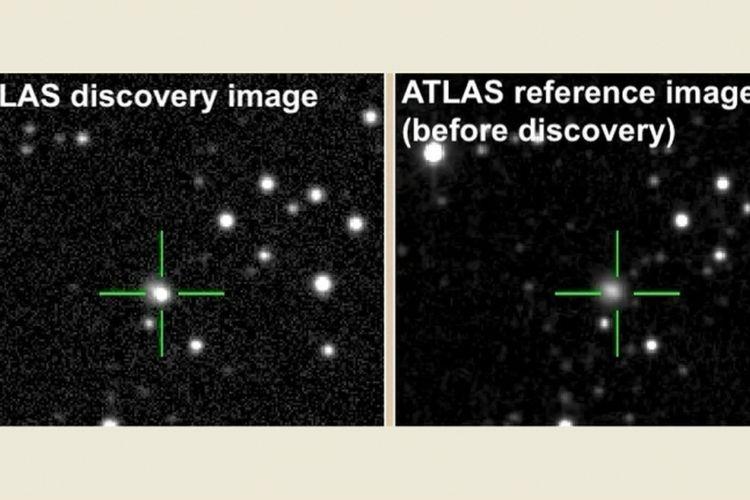 Ledakan misterius di luar angkasa yang mirip supernova