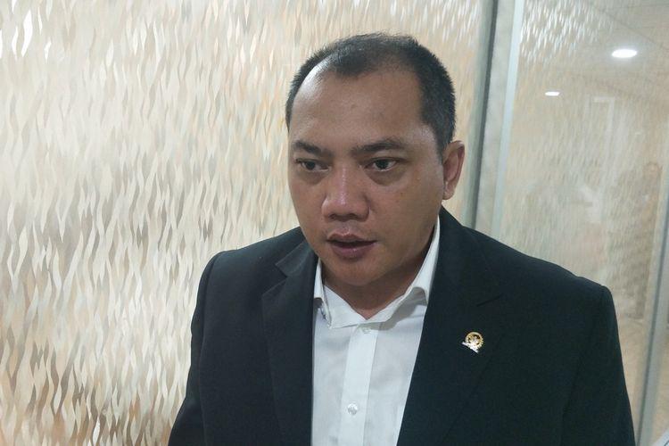 Anggota Komisi III dari Fraksi Partai Nasdem Taufik Basari saat ditemui di Kompleks Parlemen, Senayan, Jakarta, Senin (4/11/2019).