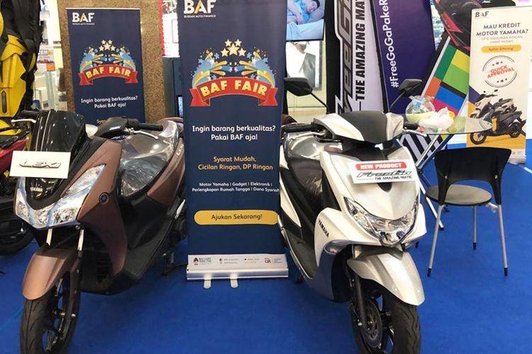 Pembiayaan motor Yamaha baru menjadi salah produk yang banyak diminati masyarakat di BAF. (Foto: Dok.BAF)