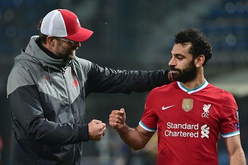 Penjelasan Klopp Mengapa Mo Salah Tampil Penuh pada Laga Midtjylland Vs Liverpool