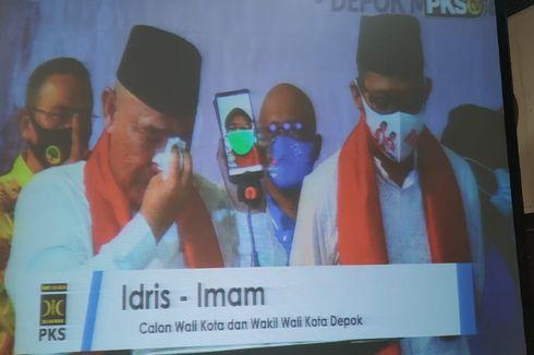 Deklarasi Maju ke Pilkada Depok, Idris Nangis Telepon Istri yang Dirawat karena Covid-19