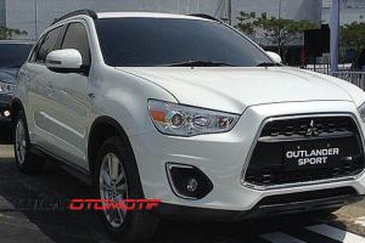Mitsubishi Outlander Sport versi facelift
