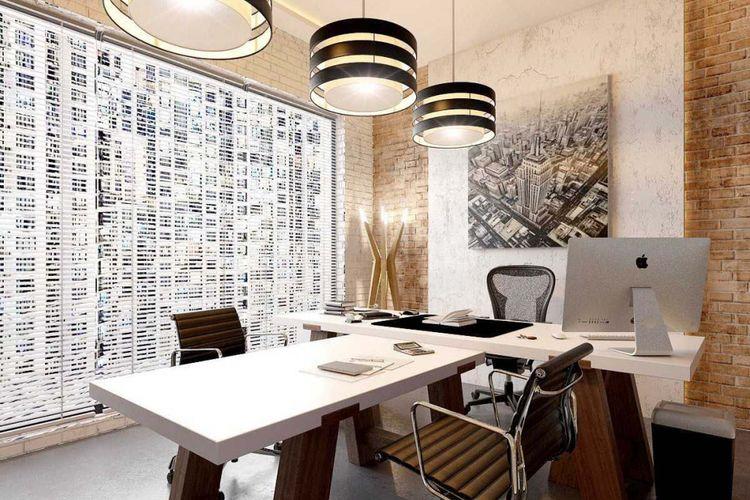 Ruang kerja Soho design karya JR design.