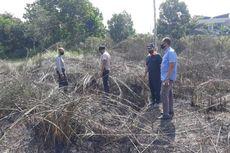 Satu Hektar Lahan Dekat Permukiman Warga Terbakar di Pekanbaru